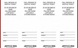 000 Awesome Free Raffle Ticket Template High Definition  Word 10 Per Page For Mac Download