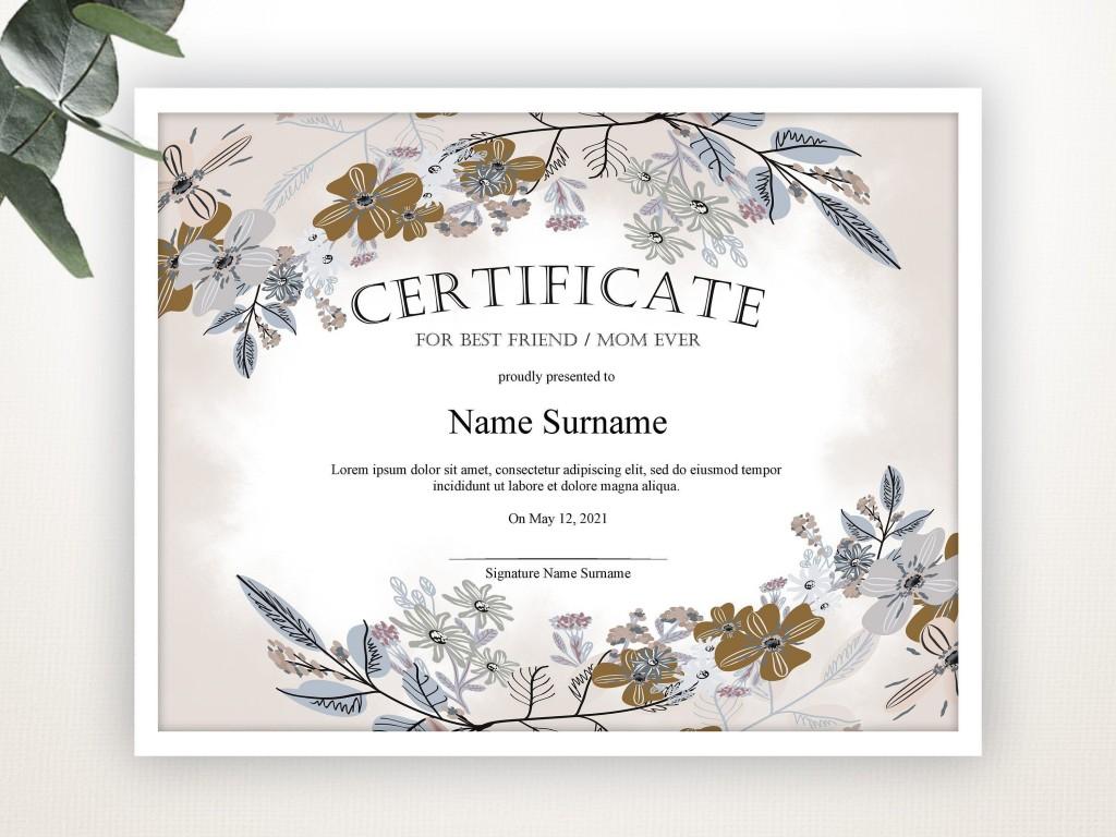 000 Awesome Gift Certificate Template Pdf Image  Massage Christma PrintableLarge