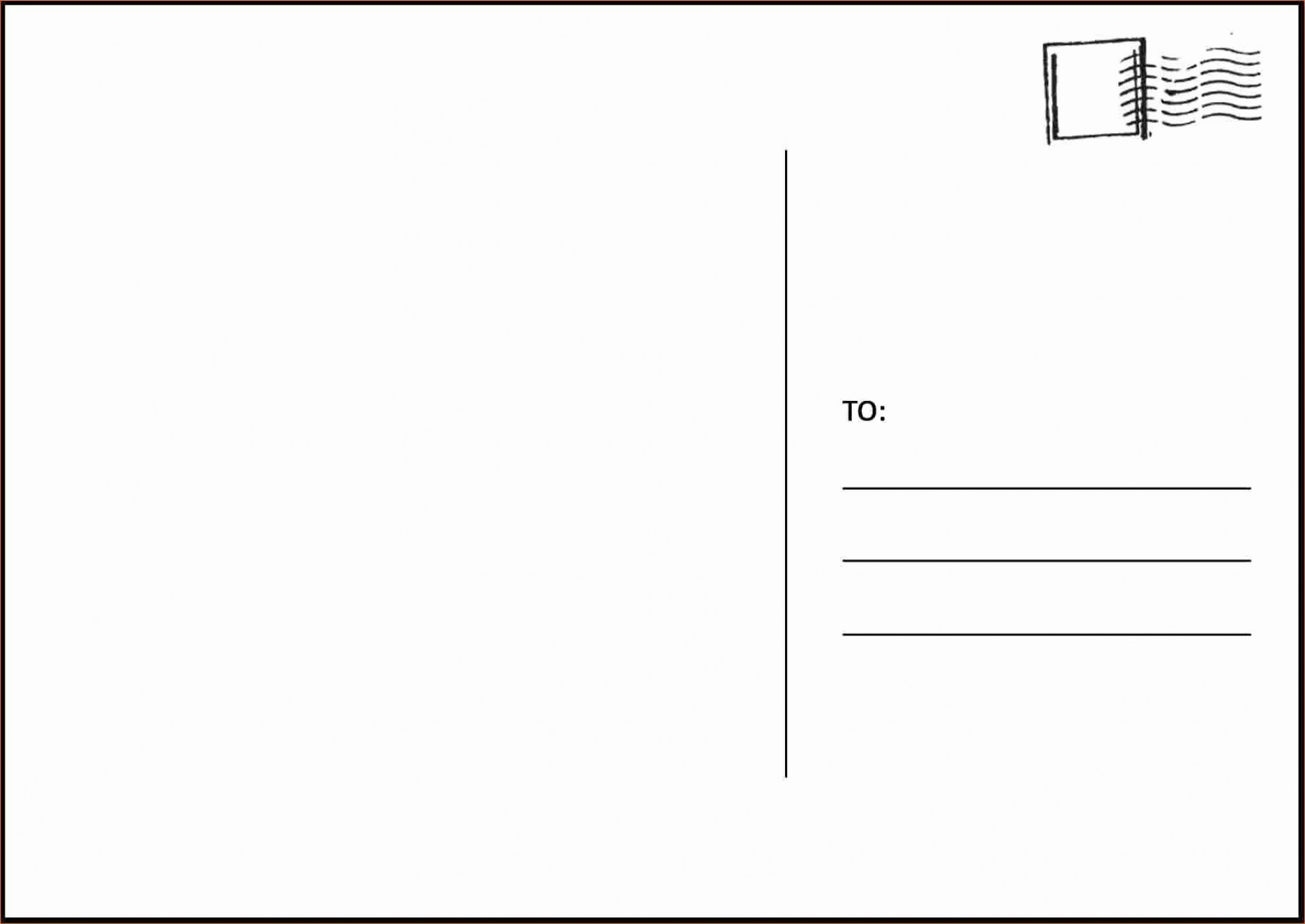 000 Awesome Postcard Template Download Microsoft Word Sample 1920