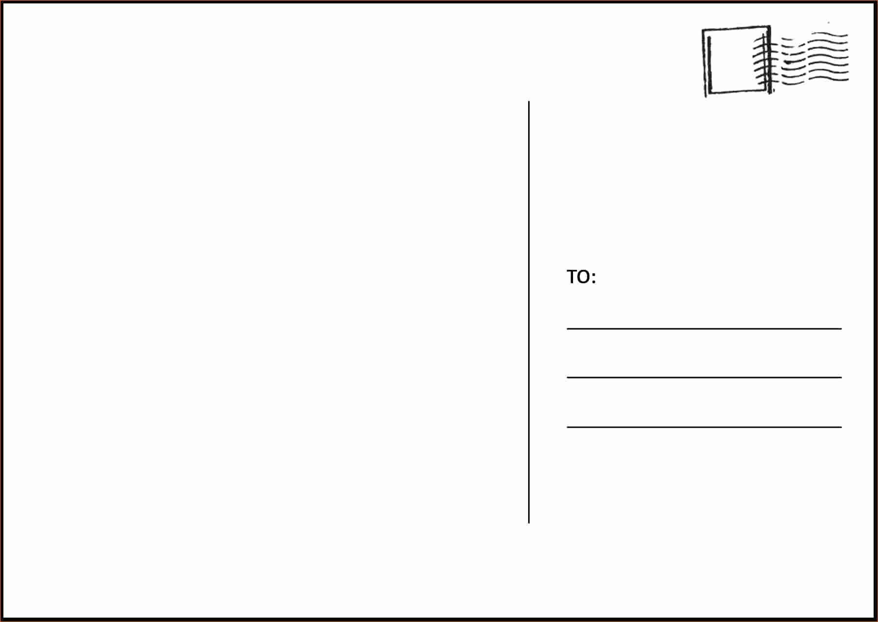 000 Awesome Postcard Template Download Microsoft Word Sample Full