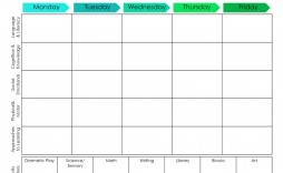 000 Awesome Preschool Lesson Plan Template Example  Free Printable Creative Curriculum Doc