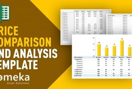000 Awesome Price Comparison Excel Template High Resolution  Competitor Download