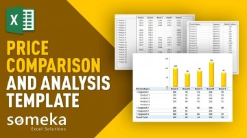 000 Awesome Price Comparison Excel Template High Resolution  Competitor Download360