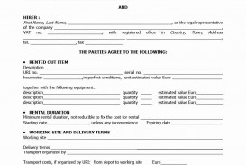 000 Awesome Rental Agreement Template Word Free Highest Quality  Room Doc In Tamil Format Download