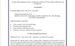 000 Awesome Resume Template For Teen High Definition  Teens Teenager First Job Australia