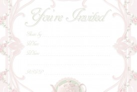 000 Awesome Tea Party Invitation Template High Def  Card Victorian Wording For Bridal Shower
