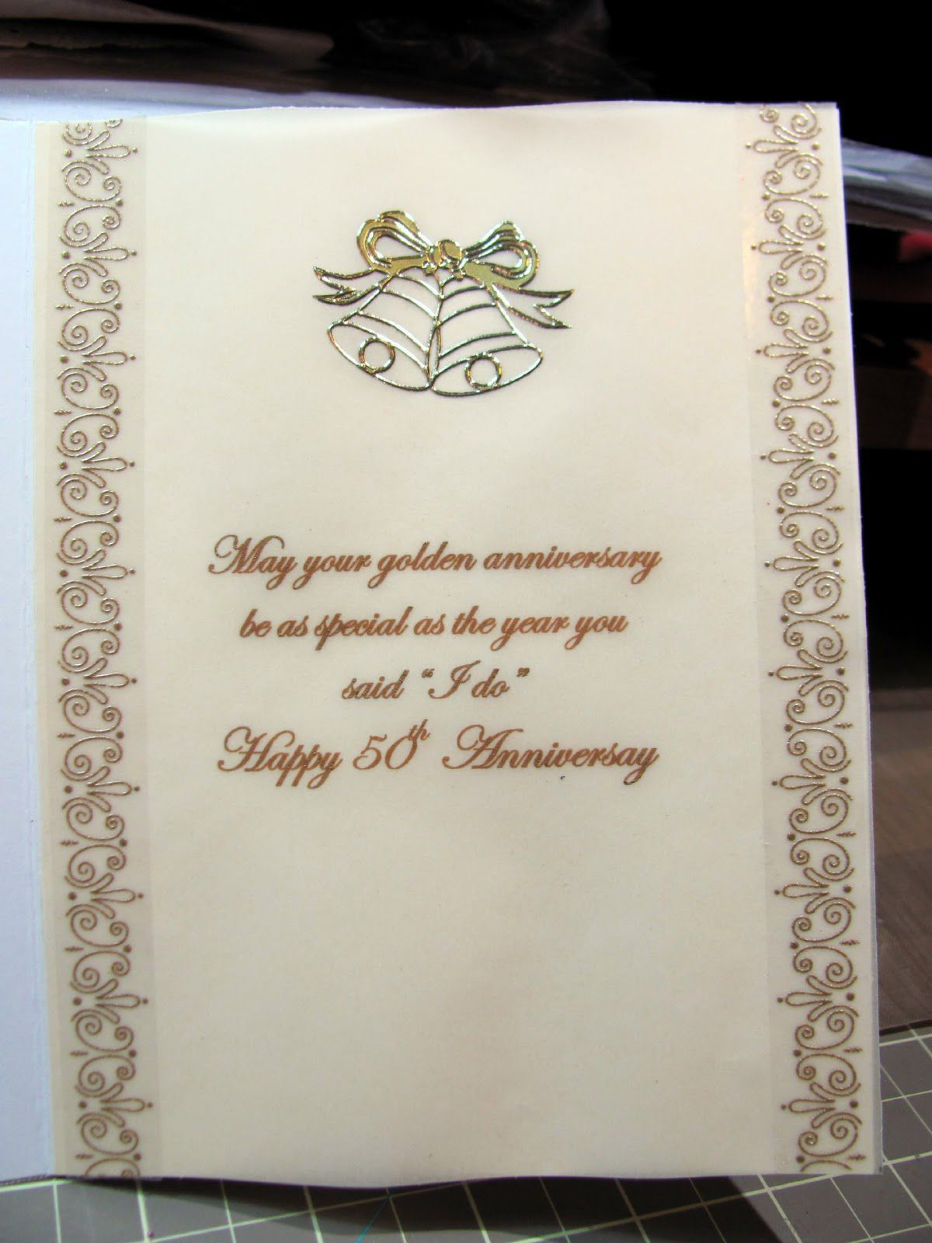 000 Awful 50th Anniversary Invitation Wording Sample Concept  Samples Wedding Card1920