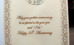 000 Awful 50th Anniversary Invitation Wording Sample Concept  Samples Wedding Card