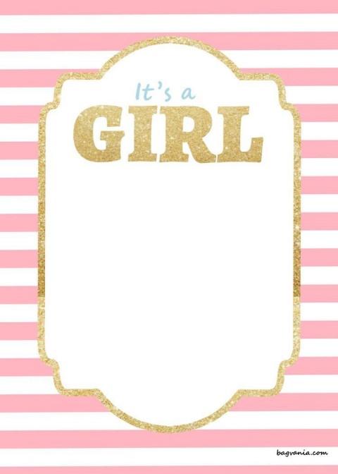 000 Awful Baby Shower Invitation Girl Free Printable Idea  Twin480