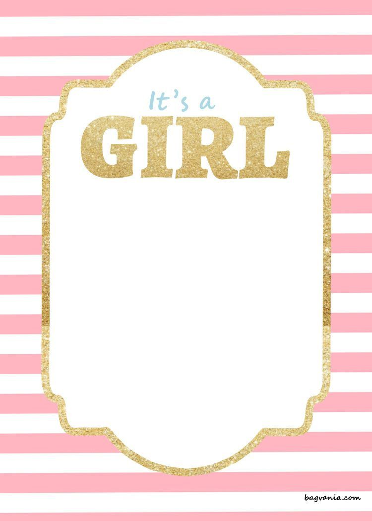 000 Awful Baby Shower Invitation Girl Free Printable Idea  TwinFull