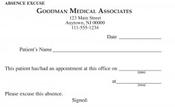 000 Awful Doctor Excuse Template For Work High Definition  Letter Note Free Printable Form