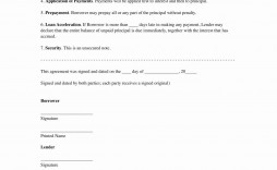 000 Awful Family Loan Agreement Template Pdf Sample  Free