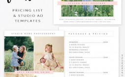 000 Awful Free Photography Package Template Idea  Pricing