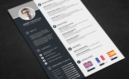 000 Awful Free Psd Resume Template High Def  Templates Attractive Download Creative (psd Id) Curriculum Vitae