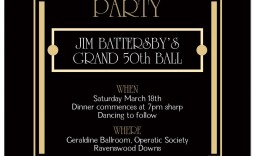 000 Awful Great Gatsby Invitation Template Highest Quality  Templates Free Download Blank