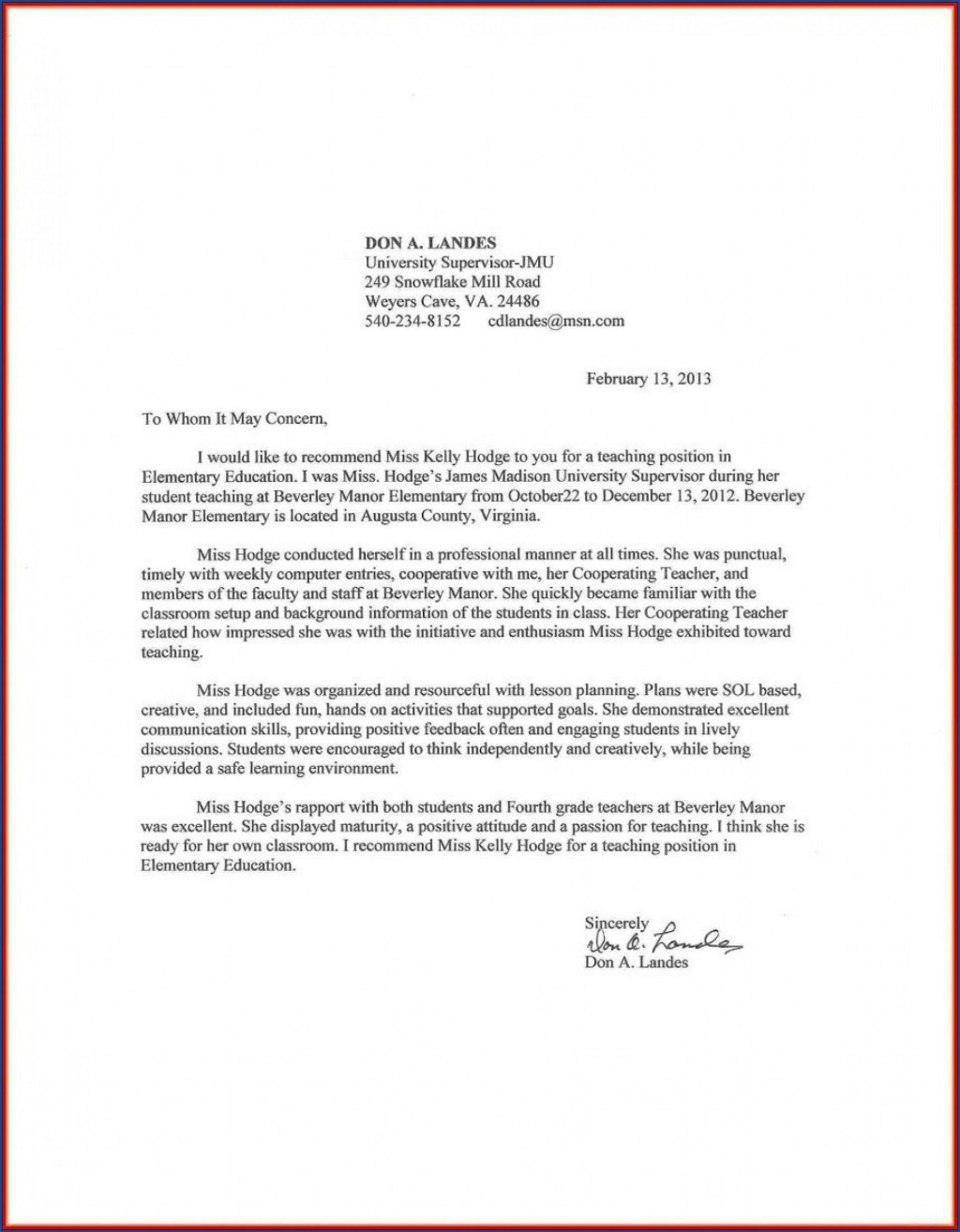 000 Awful Letter Of Recommendation For Student Teacher From Cooperating Template Idea Large