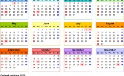 000 Awful Microsoft Calendar Template 2020 Picture  Excel Publisher Free