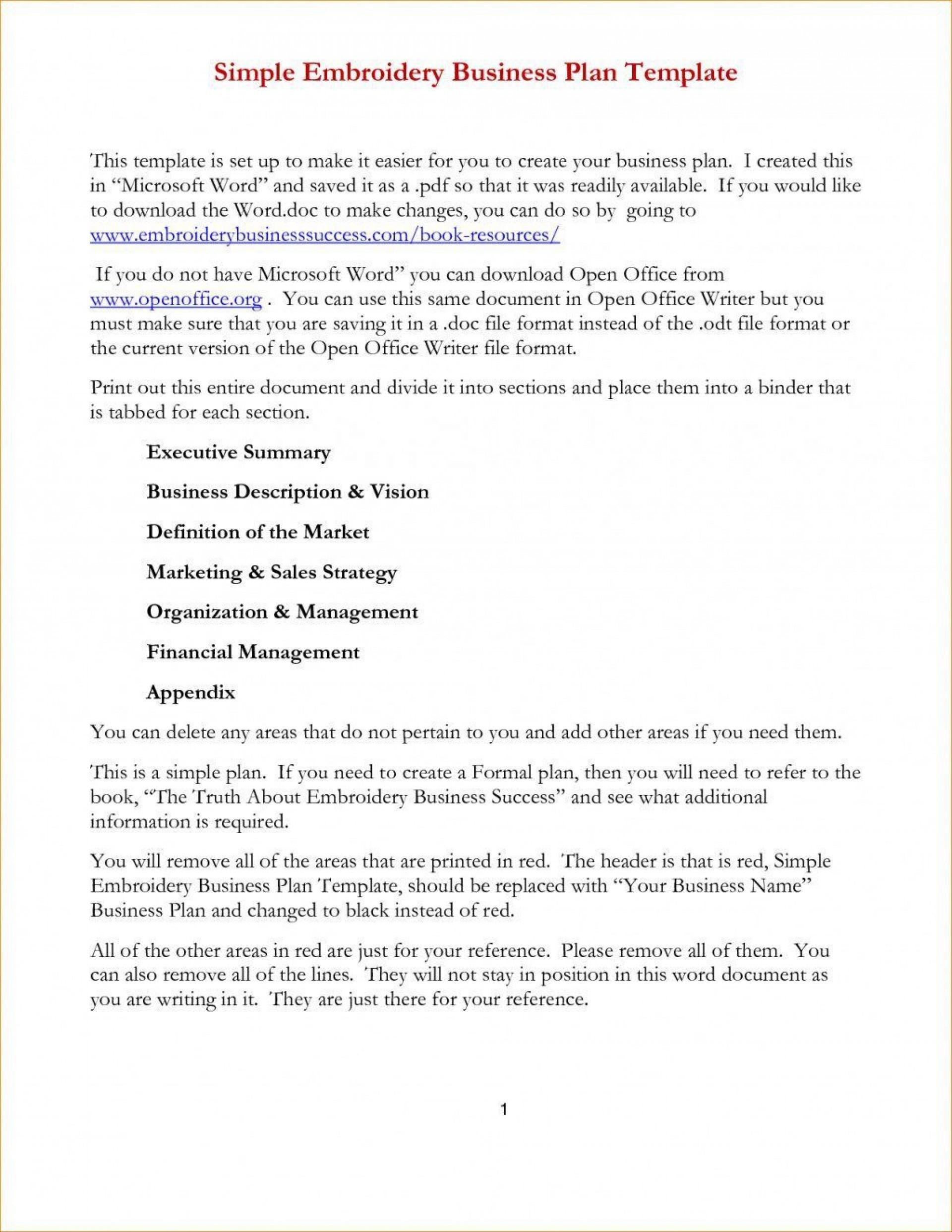 Microsoft Word Business Plan Template Addictionary