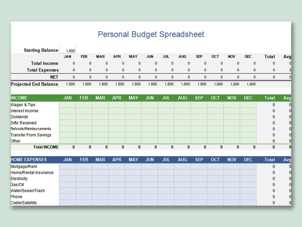 000 Awful Personal Budget Spreadsheet Template For Mac Idea Large