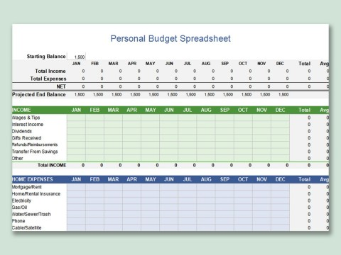 000 Awful Personal Budget Spreadsheet Template For Mac Idea 480