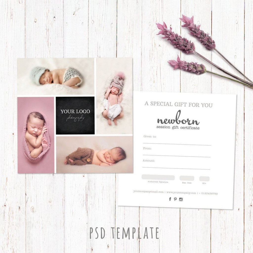 000 Awful Photography Session Gift Certificate Template Example  Photo FreeLarge