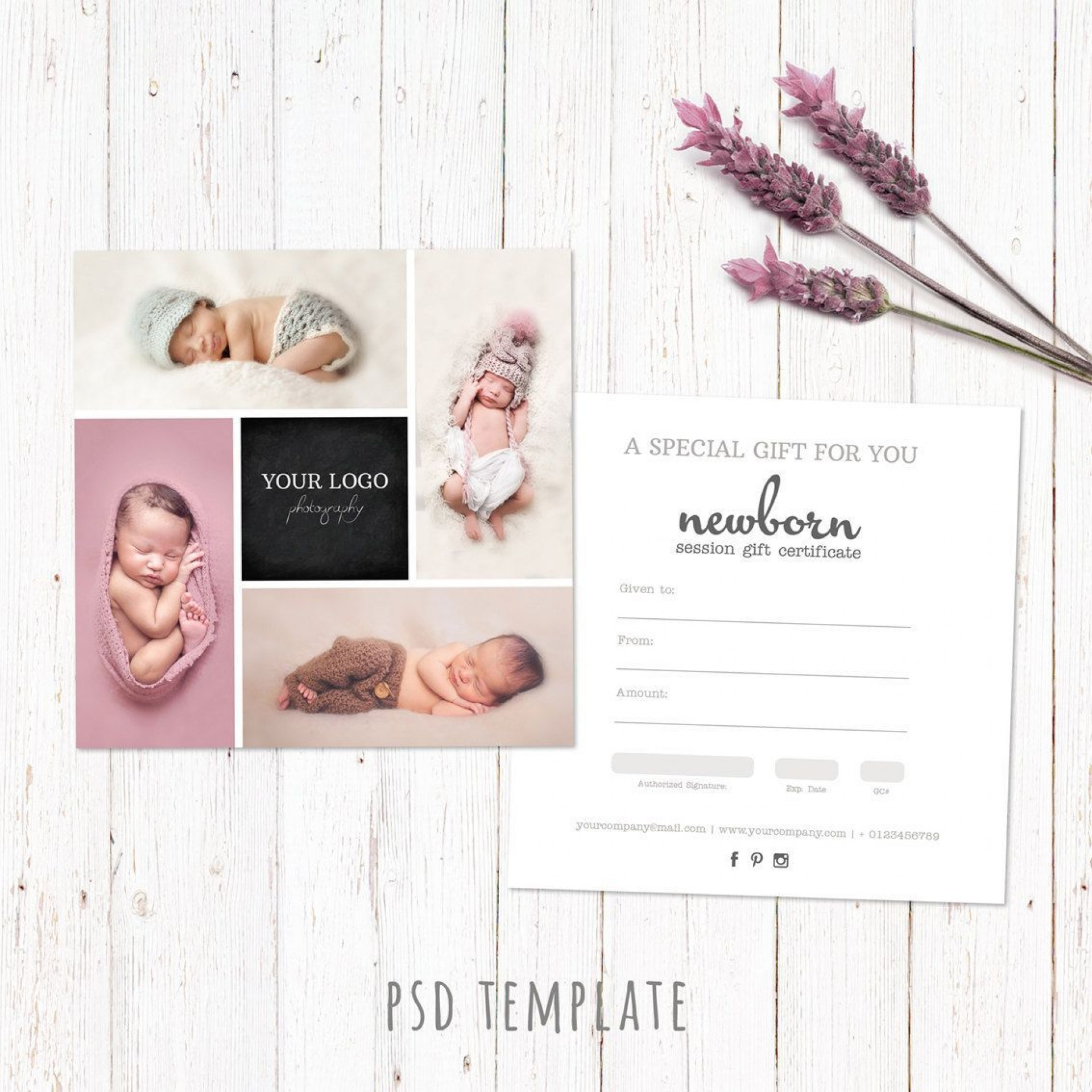 000 Awful Photography Session Gift Certificate Template Example  Photo Free1920