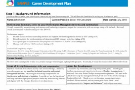 000 Awful Professional Development Plan Template For Employee Idea  Example Sample