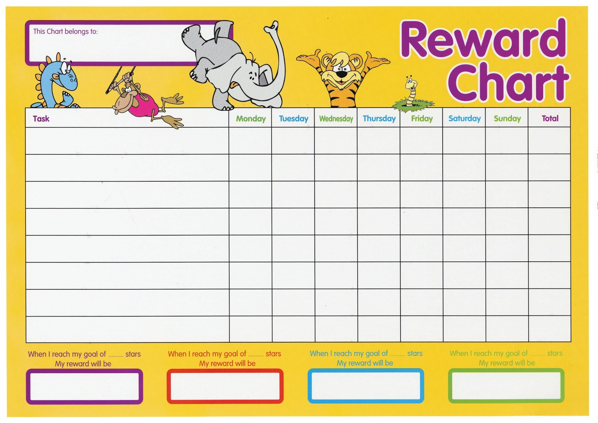000 Awful Weekly Behavior Chart Template Sample  Pdf Classroom1920