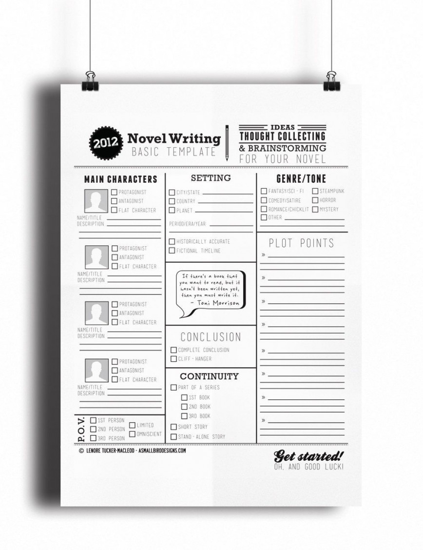 000 Awful Writing A Novel Outline Template Inspiration  Sample868