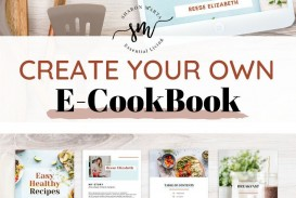 000 Beautiful Create Your Own Cookbook Template Concept  Free