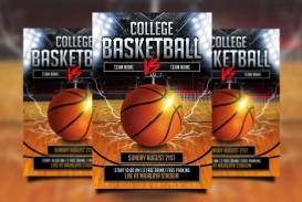 000 Beautiful Free Basketball Flyer Template Photo  Game 3 On Tournament Word