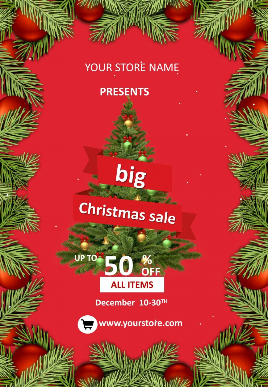Holiday Flyer Template Free from www.addictionary.org