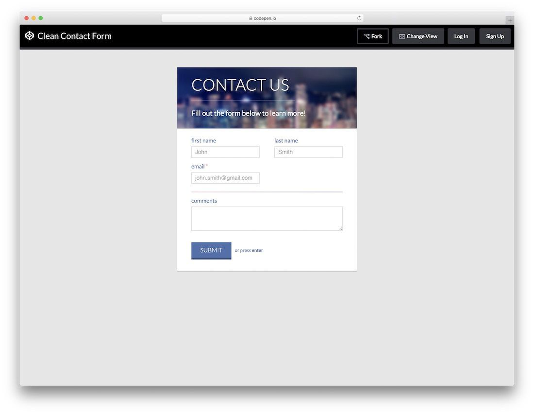 000 Beautiful Free Html Form Template Image  Templates Survey Application Download RegistrationFull