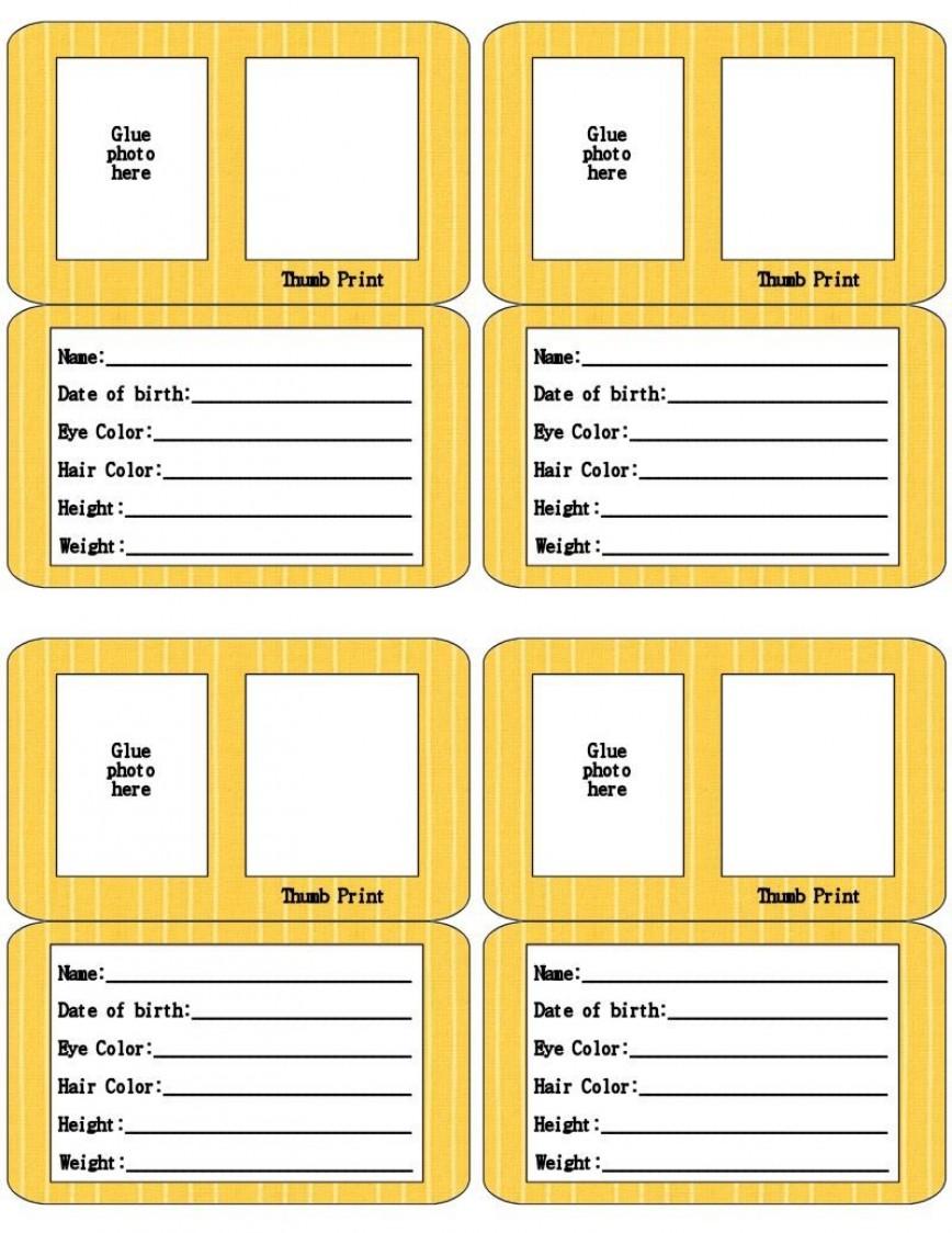 000 Beautiful Free Printable Id Card Template Highest Quality  Templates Editable