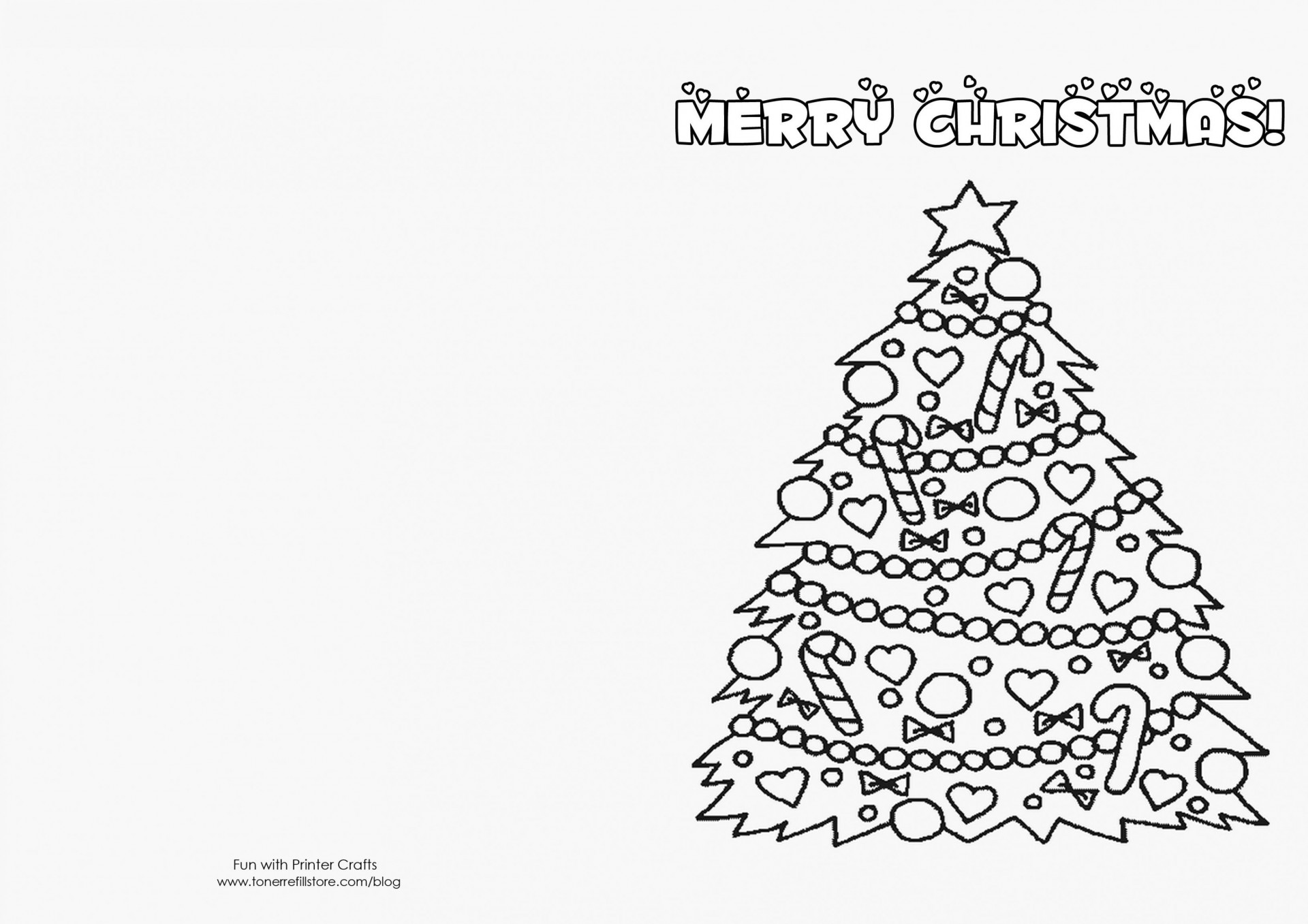 000 Beautiful Free Printable Xma Card Template Image  Templates Christma Making Online To Colour1920