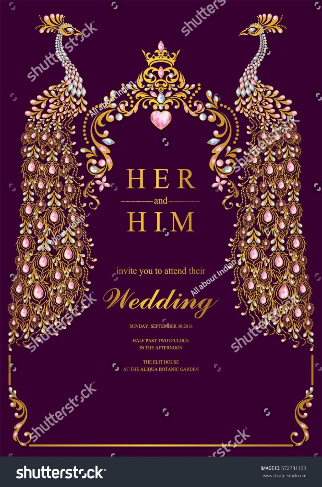 000 Beautiful Indian Wedding Invitation Template Sample  Psd Free Download Marriage Online For FriendLarge