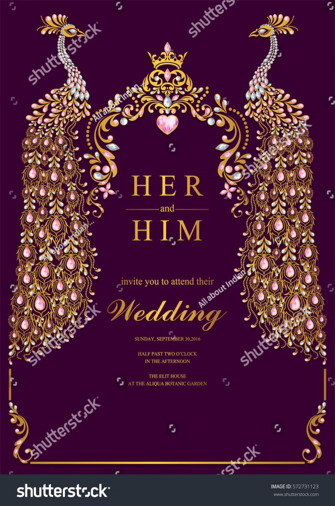 000 Beautiful Indian Wedding Invitation Template Sample  Psd Free Download Marriage Online For Friend1400