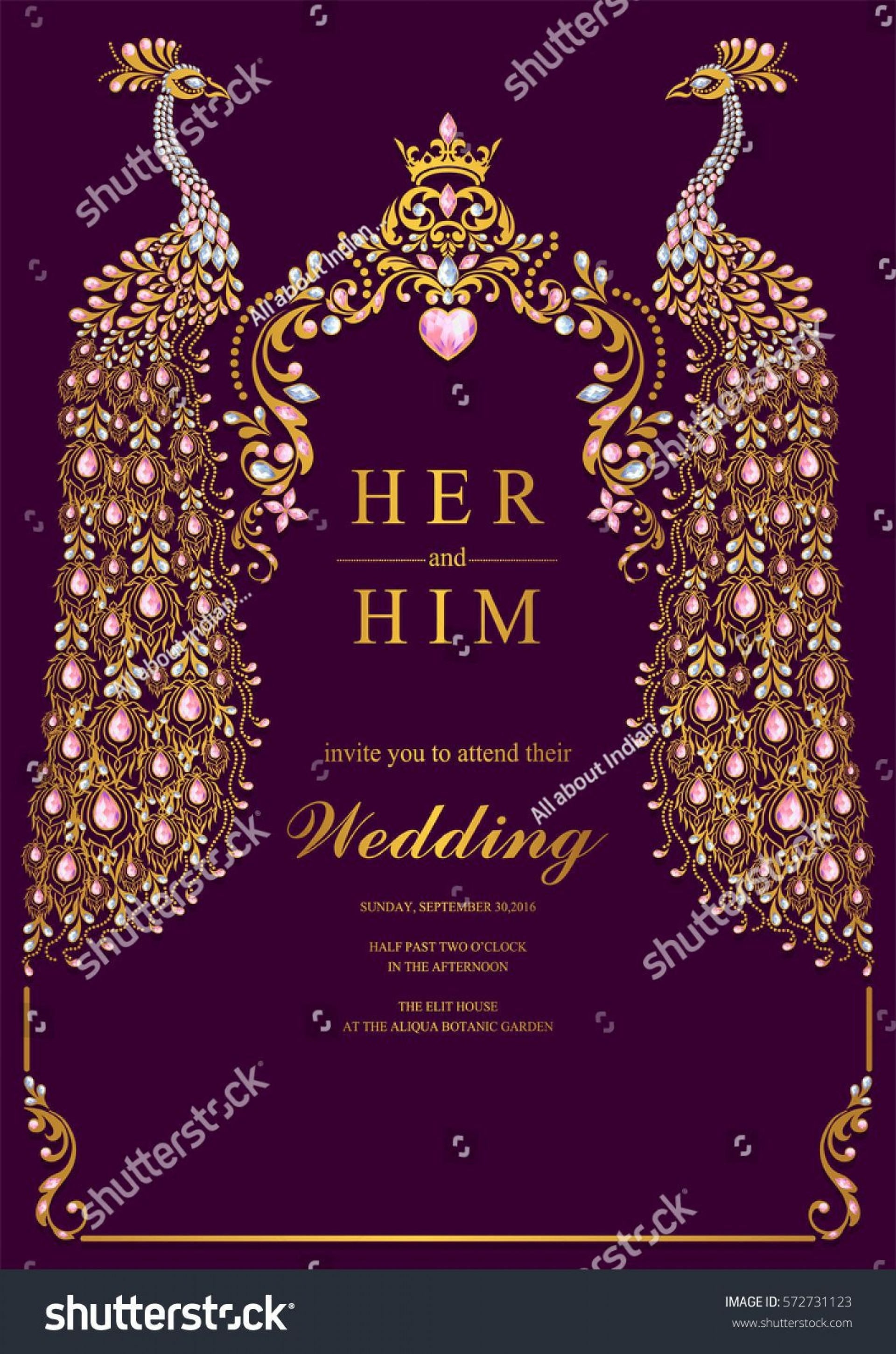 000 Beautiful Indian Wedding Invitation Template Sample  Psd Free Download Marriage Online For Friend1920