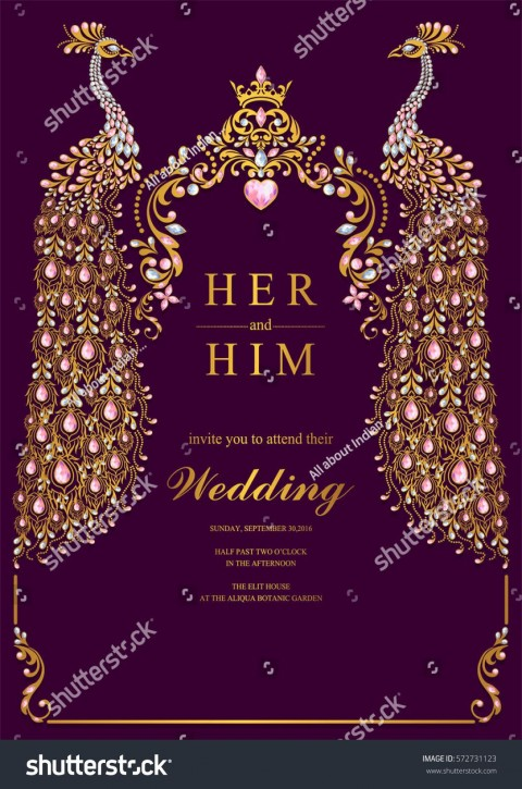000 Beautiful Indian Wedding Invitation Template Sample  Psd Free Download Marriage Online For Friend480