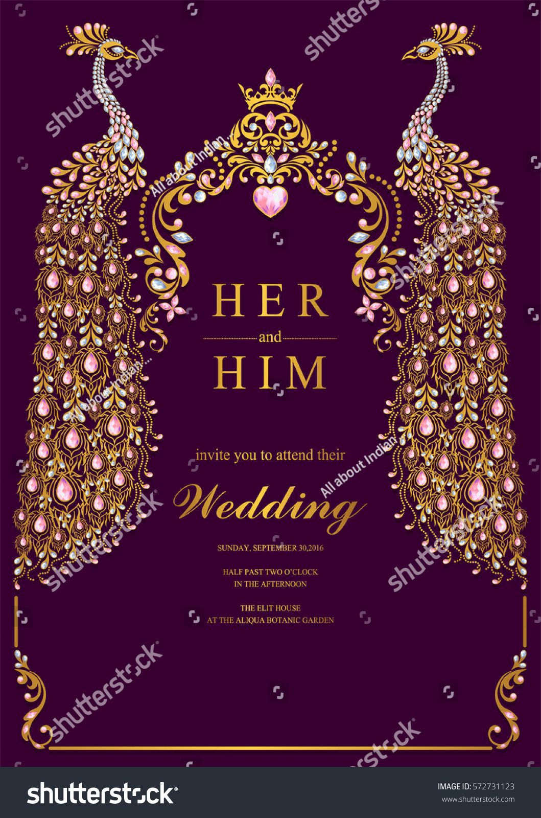 000 Beautiful Indian Wedding Invitation Template Sample  Psd Free Download Marriage Online For FriendFull