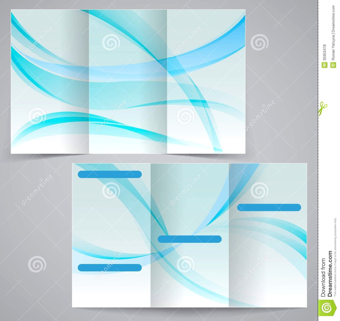 000 Beautiful M Word Blank Brochure Template Highest Clarity  Microsoft Tri FoldFull