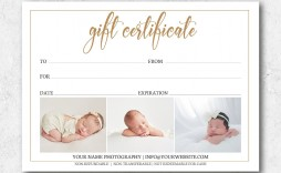 000 Beautiful Photography Gift Certificate Template Photoshop Free Photo