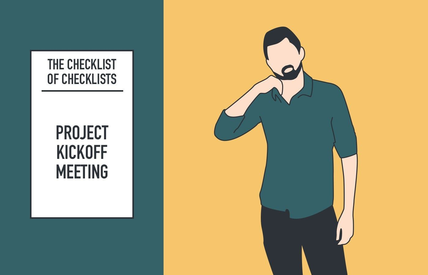 000 Beautiful Project Management Kickoff Meeting Agenda Template Concept 1400
