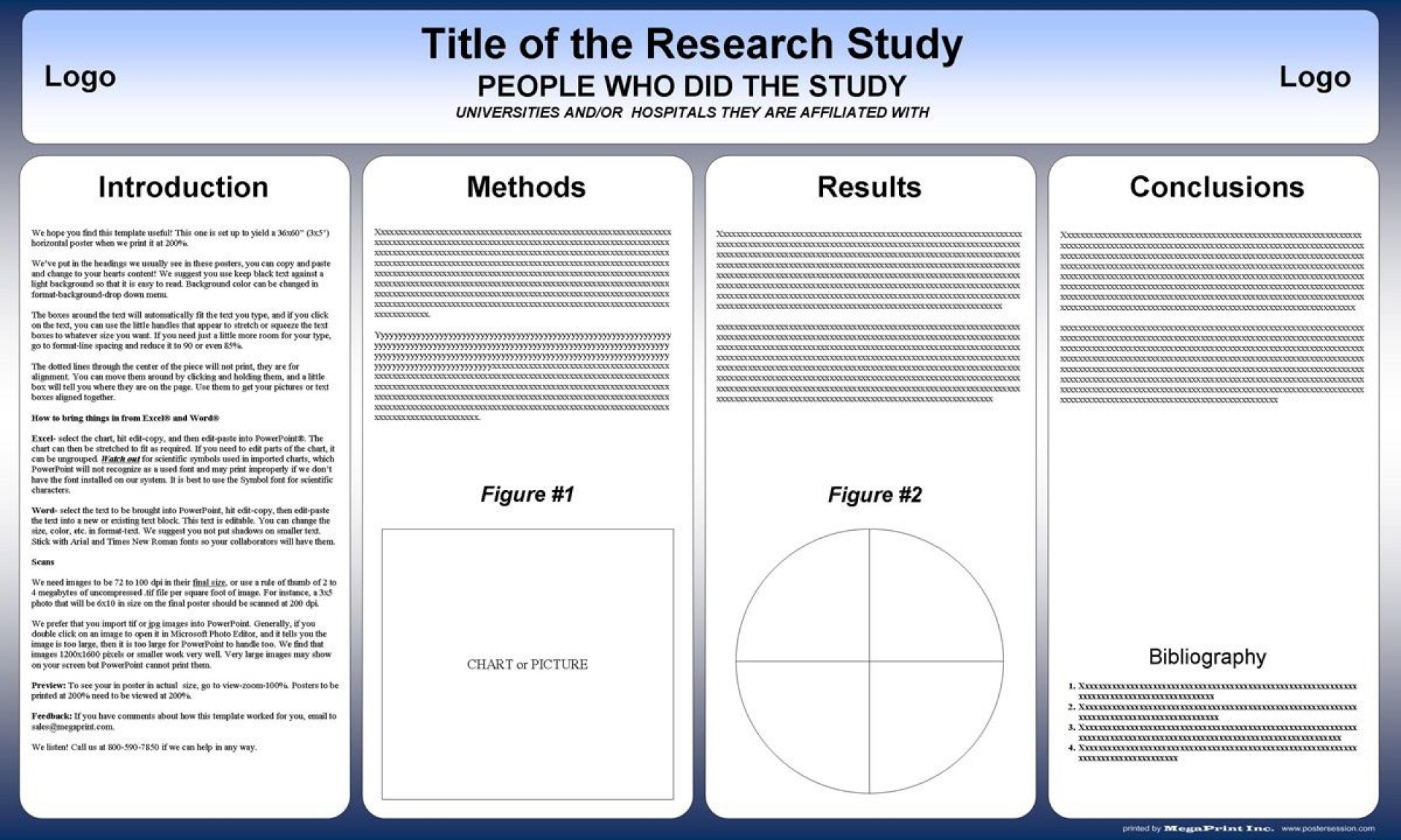 000 Beautiful Scientific Poster Presentation Template Free Download High Resolution 1920