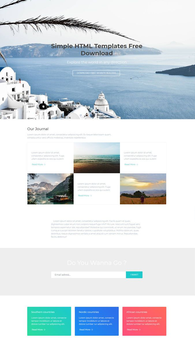 000 Beautiful Simple Html Web Template Free Download Photo  Website With Cs Bootstrap WithoutFull