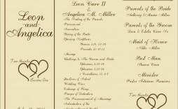 000 Beautiful Trifold Wedding Program Template Idea  Templates Tri Fold Tri-fold Publisher Free Foldable