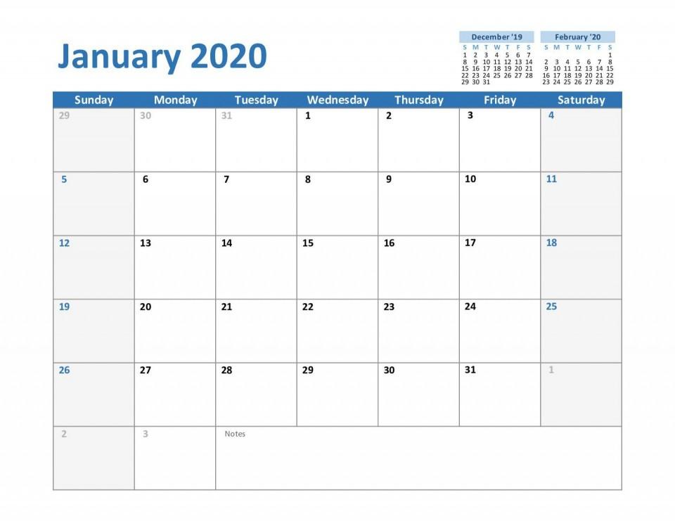 000 Best Calendar Template For Word 2007 Sample 960
