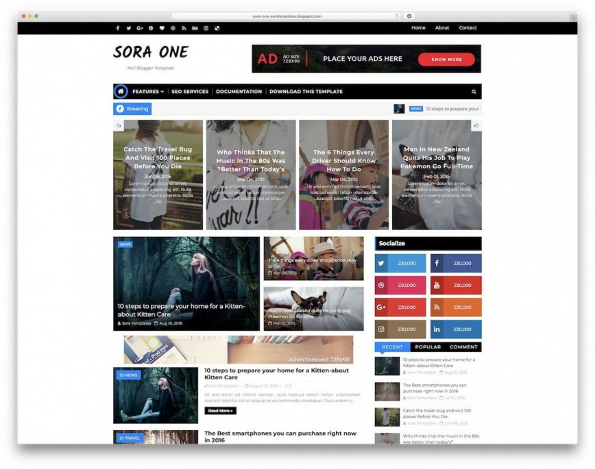 000 Best Free Blogger Template 2015 Inspiration