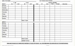 000 Best Free Biweekly Timesheet Template Sample  Bi Weekly Time Card Excel