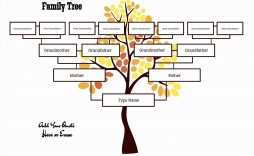 000 Best Free Editable Family Tree Template Concept  With Sibling Powerpoint For Mac